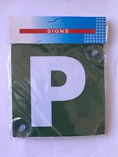 P Plates | 2 Pcs | With Suction Disk | Standard Size 15cmx15cm |Australian Stock