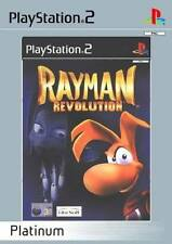 RAYMAN REVOLUTION for Playstation 2 PS2 - with box & manual - Platinum