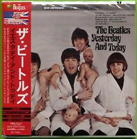 """The Beatles """"YESTERDAY"""" AND TODAY Stereo/Mono mini LP Japan CD w/24-pg booklet"""