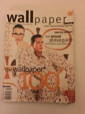 WALLPAPER MAGAZINE UK No.8 January/February 1998 MEGHAN DOUGLAS Tyler Brule BLED