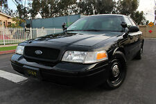 2009 Ford Crown Victoria Police Interceptor Sedan 4-Door