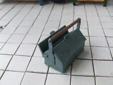 Werkzeugkasten 2  für Werkstatt oder Tankstelle, Automodellbau-ZubehMaßstab 1:18