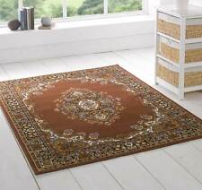 Shirav Extra Large Brown Persian Style Traditional Rugs 180x250cm