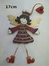 ange à suspendre en bois, décoration de noël, sapin, murale, envoi offert  **T3