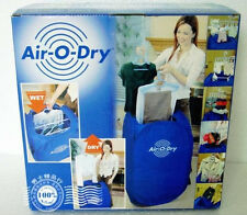 2015 New Air-O-Dry Portable Electric Clothes Dryer  Bag Blue Free Shipping
