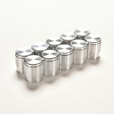 10X Aluminum Knobs Rotary Switch Potentiometer Volume Control Pointer Hole 6mm B
