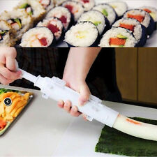 Sushi Bazooka Roll Maker Kit Rice Kitchen Mould Chef Easy Use Cooking Set