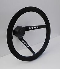 Ford Mk2 Escort  Rally Car AVO Springalex Gp4 Steering Wheel SUEDE