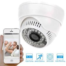 Wireless P2P Wifi Dome IP Camera IR-Cut Night Vision Motion Detection EU 1MS0