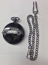 Sabb 96 Rally 2 Stroke Monte Carlo ref235 Pewter Effect black case pocket watch