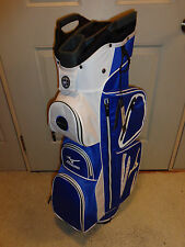 New Mizuno Elite Cart Bag ( Staff Blue )