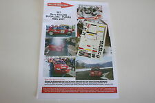 DECALS 1/43 CITROEN SAXO S1600 PURAS N°21 RALLYE MONTE CARLO 2001 WRC RALLY