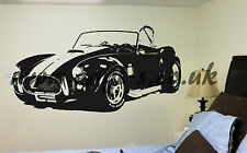 AC Cobra Vinyl Wall Art enorme mancave camera da letto AUTO KIT CAR