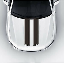 Car Truck Decal Vinyl stickers Hood Decals Racing stripe Black
