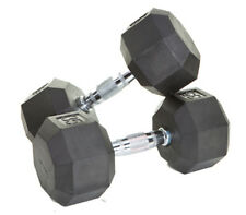 Troy Barbell VTX 20lb Rubber Encased Octagonal dumbbell SD-020R NEW