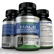 Oztosterone Male Sexual Performance Enhancement - Testosterone Booster for Men