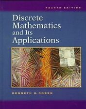 Discrete Mathematics and Its Applications Kenneth H. Rosen Hardcover