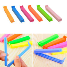 10Pcs Kitchen Storage Snack Food Seal Sealing Bag Clip Sealer Clamp Plastic Tool