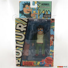 Futurama Hermes Conrad action fFigure with Roberto build-a-bot part by Toynami