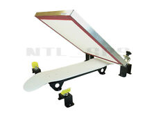 Silk Skates© DIY Skateboard Screen Printing Press skateboarding printer machine