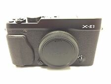 Fujifilm X series X-E1 16.3MP Digital Camera - Black (Body Only)