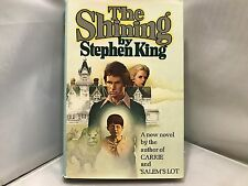 The Shining by Stephen King, Hardcover,1977 Doubleday Dustjacket Very Good