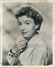 1959 Actress Cathy Lewis Fibber McGee & Molly 1950s TV Show Press Photo