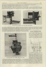1924 Alfred Herbert Photocopier Coal Pulverising General Electric Co