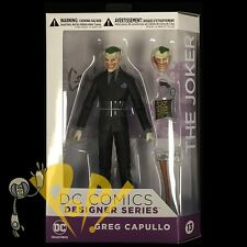 "The JOKER Greg CAPULLO Designer Series 6.675"" Action Figure DC Collectibles NEW"