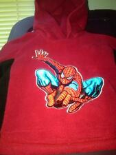 NWT THE AMAZING SPIDER-MAN SOFT FLEECE HOODIE RED SIZE 12 MONTHS