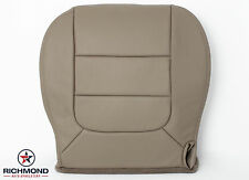 2003 Ford F150 Lariat -Front Driver Captain Bucket Bottom Leather Seat Cover Tan