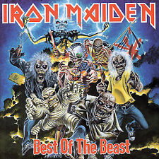 The Best of the Beast by Iron Maiden 1 CD - GREAT SHAPE!! Free Shipping