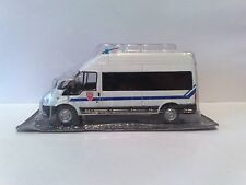 DeAgostini 1:43 Police car of France Ford Transit CRS