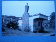 PHOTO  CROWCOMBE RAILWAY STATION 1950`SVIEW OF THE DOWN PLATFORM AND WOODEN BUIL