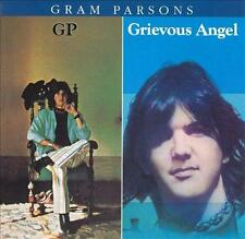 GRAM PARSONS - G.P. / Grievous Angel (CD 1990) USA Import EXC GP