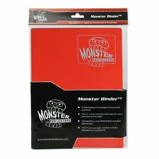 (5) BCW-MB-4P-MRD Red Trading Game Card Binder 4 Pocket Monster Protectors M:TG