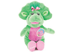"OFFICIAL BRAND NEW 14"" BABY BOP PLUSH SOFT TOY FRIEND OF BARNEY AND BJ"