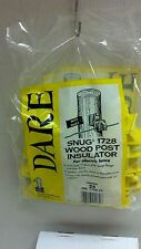 Dare - Snug 1728 - Electric Fence Insulators - For Wooden Posts - 25pk.