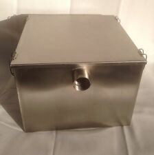 Grease Traps, Commercial, Stainless steel, 9 Kilo, & Waste Filter, Fat Traps