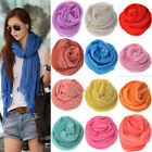 2013 Fashion Womens Fashion Pure Candy Color Crinkle Soft Scarf Wrap Shawl HOT