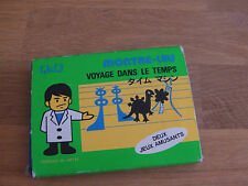 "Lcd card game Q & Q "" Time warp "" game watch"