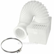 1M Wall Mountable Condenser Box with Hose & Clip for BUSH Tumble Dryer