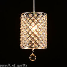 Modern Crystal Light Hallway Pendant Ceiling Lamp Fixture Chandelier Lighting