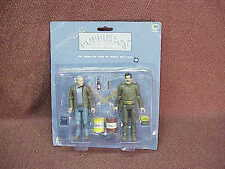 PUPPETICS SADDAM HUSSIAN,  GEORGE BUSH ACTION FIGURES IN PACK