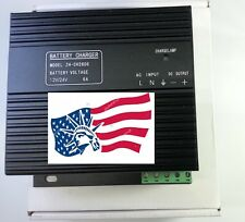 New Generator Intelligent Dual Battery Charger CH2806 6Amp 12/24VDC Autotransfer