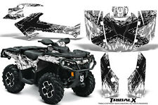 CAN-AM OUTLANDER 500 650 800 1000 2013-2016 GRAPHICS KIT CREATORX TRIBALX BW