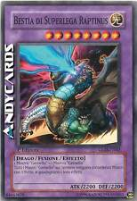 Bestia di Superlega Raptinus ☻ Comune ☻ GLAS IT042 ☻ YUGIOH ANDYCARDS