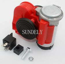 Nautilus Air Horn 24 volt 139dB Car red Bike Motorcycle Truck