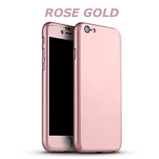 "Genuine Slim 360 Full Body Protector Case Cover For iPhone 6 6S 4.7"" - Rose Gold"