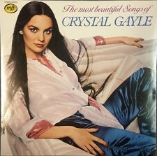 """12"""" Crystal Gayle The Most Beautiful Songs (Somebody Loves You) 70`s EMI"""